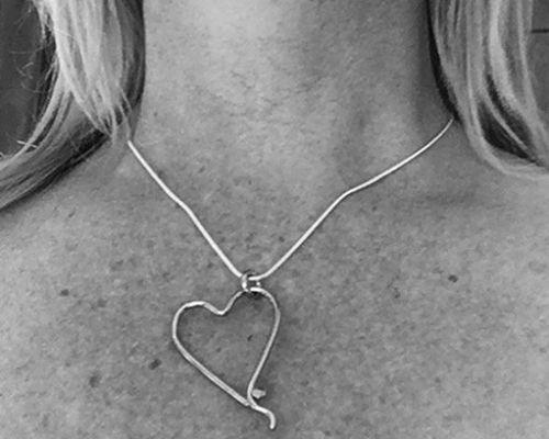 Heart Necklace Karen