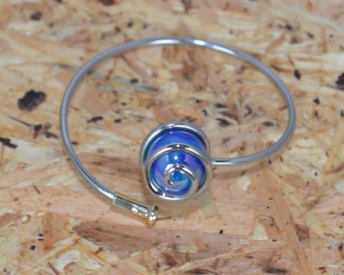 Marble Bracelet - Blue
