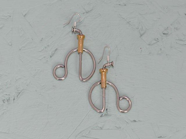 Penny Farthing Earrings