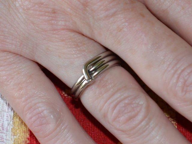 Spiral Spoke Hub Ring
