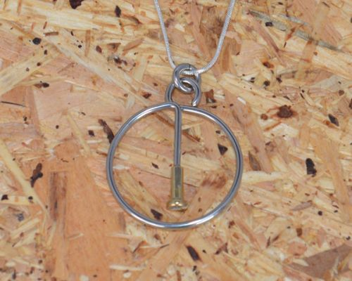Spoke In The Wheel Necklace