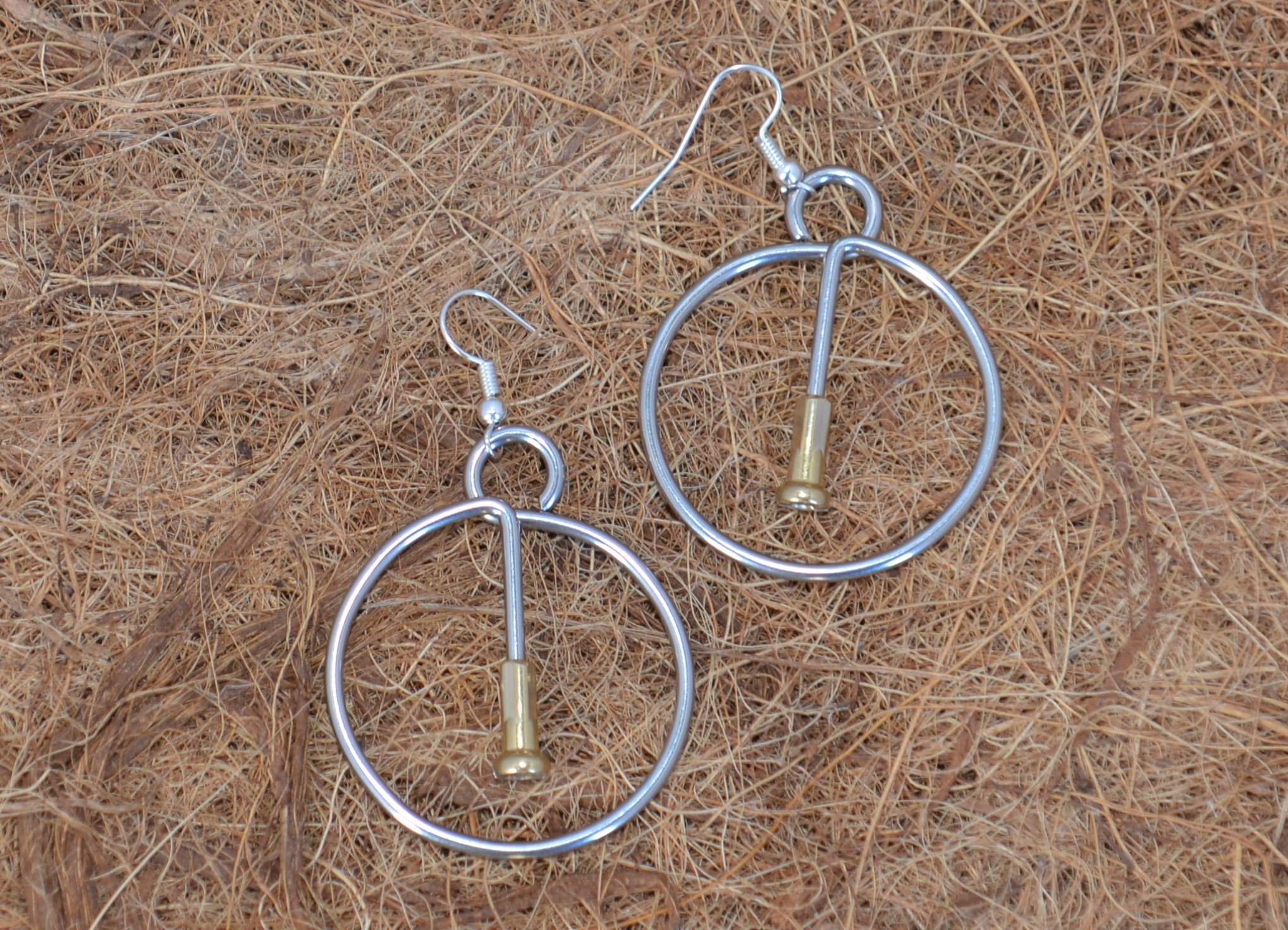 Spoke in a Wheel Earrings
