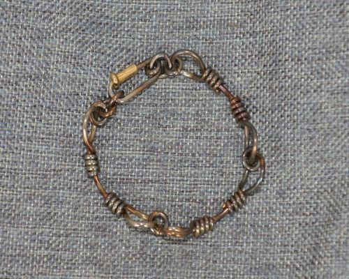 Steel Rope Bracelet Heated