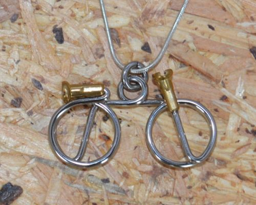Wheeling Free Necklace