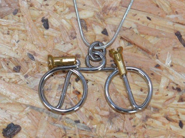 Wheeling Free Necklace