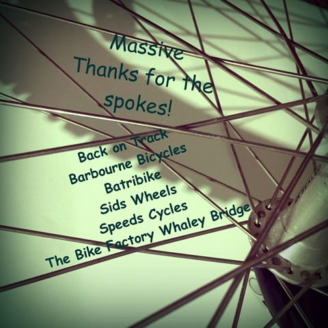 Thanks for the Bike Spokes