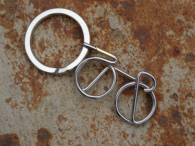 Bicycle Spoke Keyrings