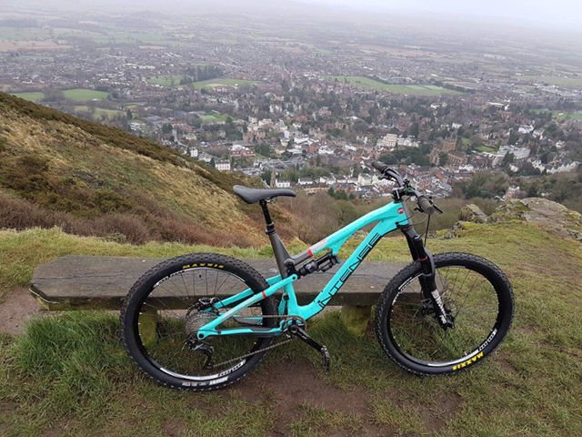 Mountain Bike on Malvern Hills for Malverns Classic 2018