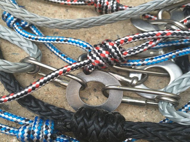 Rope sourced locally for Respoke Designs Carabiner Bracelets